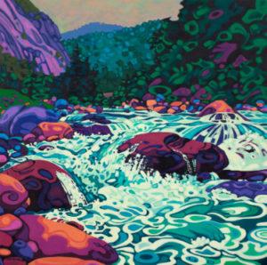 Blue Water Merced River
