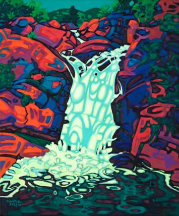 Crane Flat Water Fall