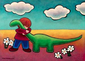 Brontosaurus Hug, 2018
