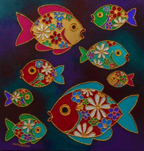 Flower Fish, 2018